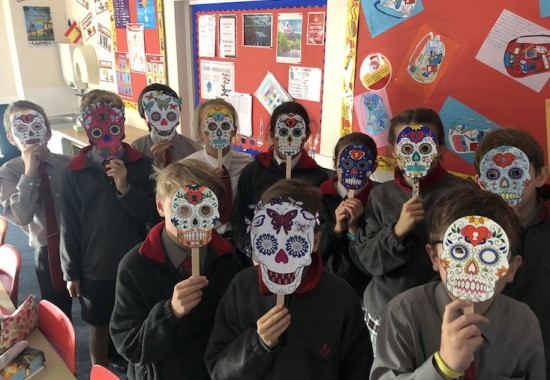 Day of dead masks