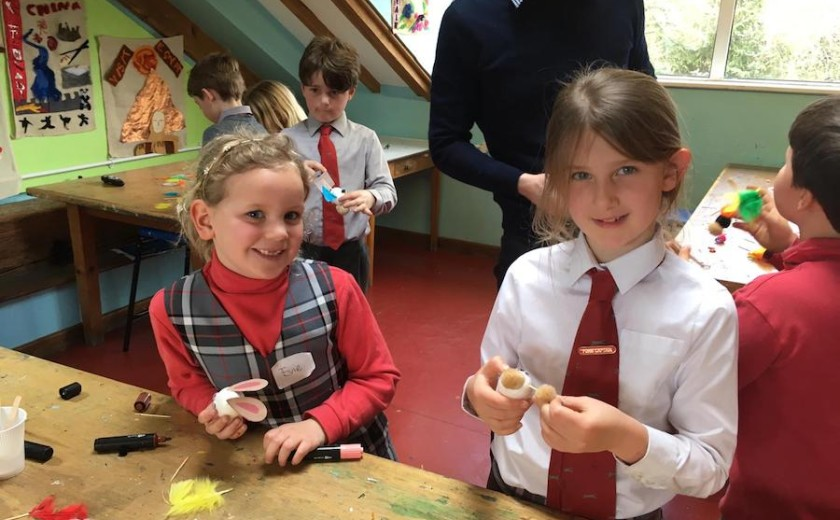 Inter-year egg decorating