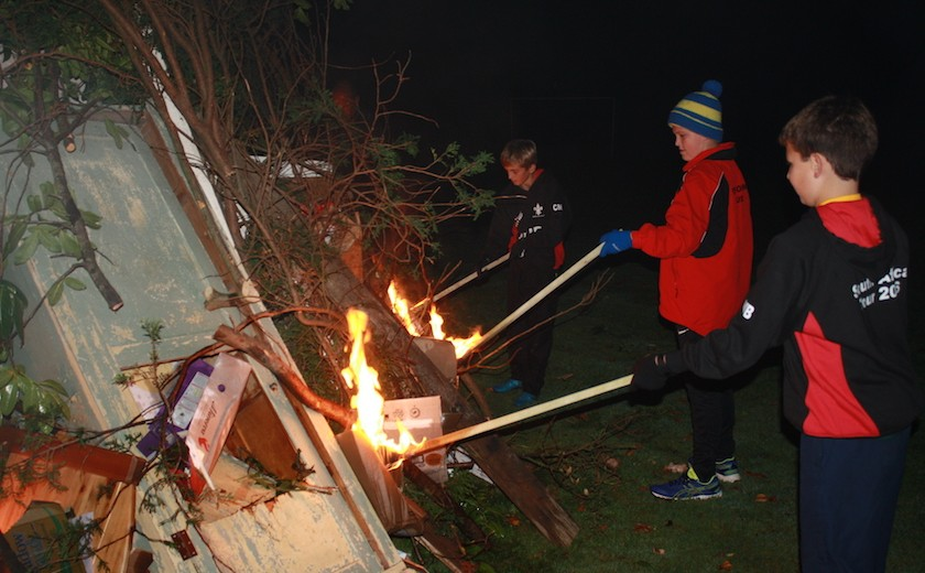 boarders bonfire night