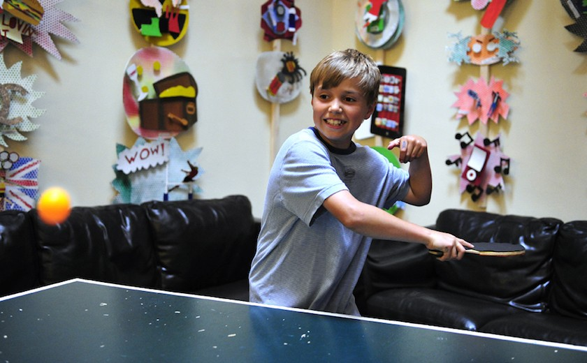 boarder table tennis