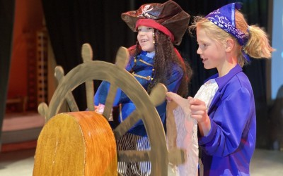 Pirate Adventures - Drama on stage