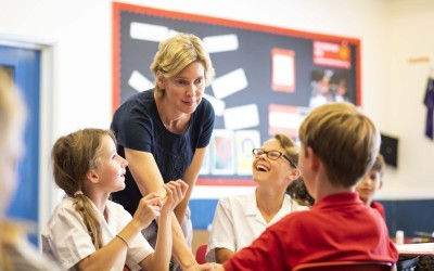 Teaching is excellent at Westbourne House School